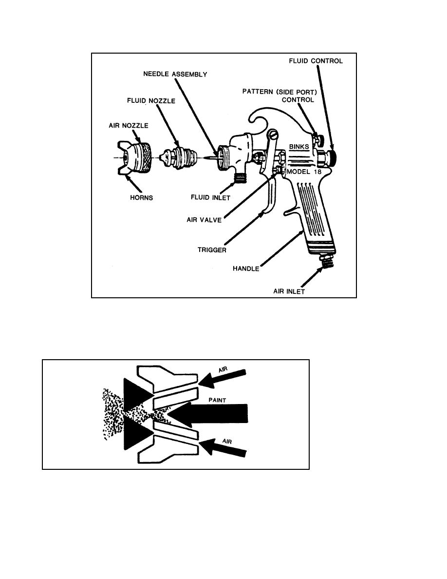 Spray Gun Drawing Figure 12 Cross-sectional