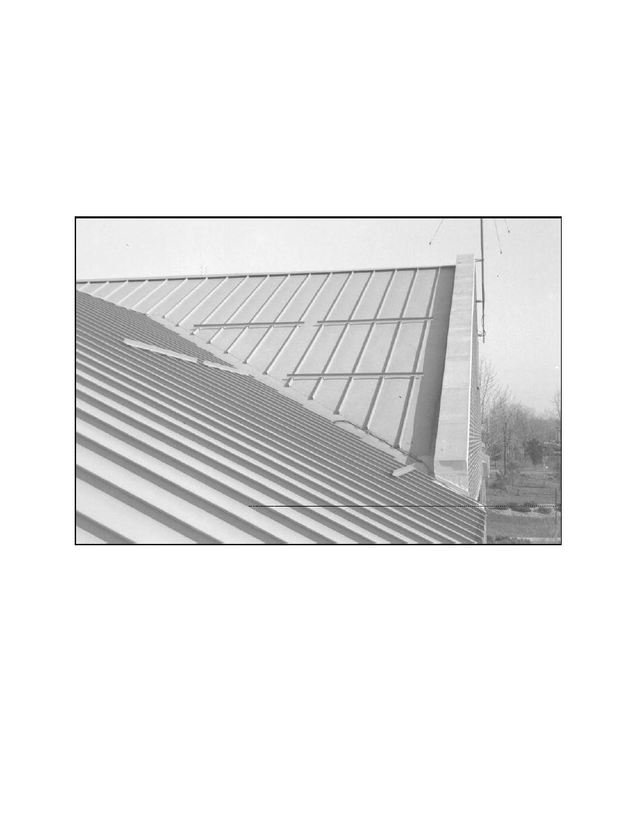 Metal roof metal roof snow loads for Snow loads on roofs
