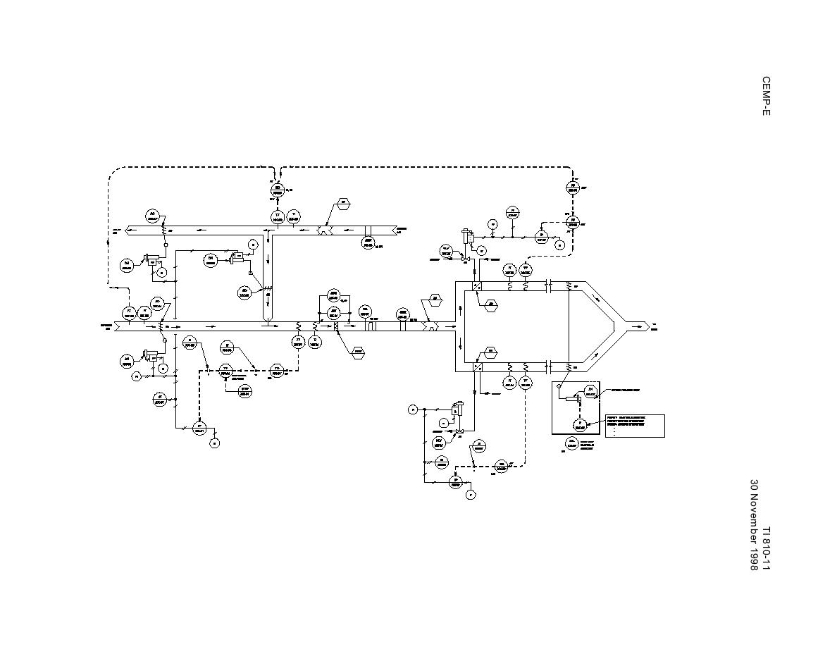 Figure 4 14a. Control System Schematic for Multizone HVAC System. #464646
